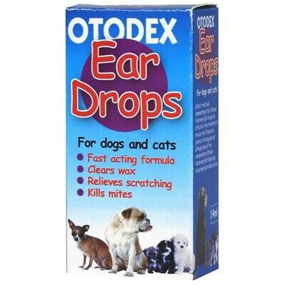 OTODEX VETERINARY EAR DROPS MITES FOR DOGS AND CATS 14ml