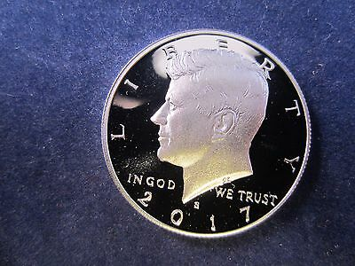 2017-S Silver Kennedy Half  Deep Cameo Mirror Proof Upper Grading Range IN STOCK