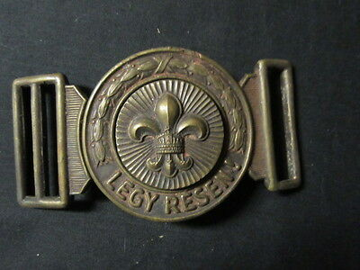 Hungarian Boy Scout Belt Buckle  older  j15a