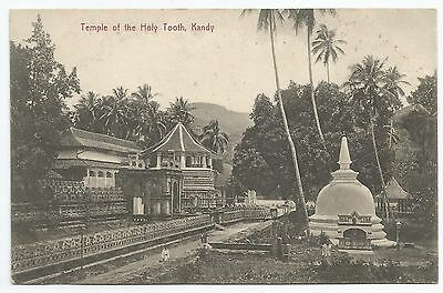 Postal-Ceilán-Ptd. el Templo Of The Holy Tooth, Kandy