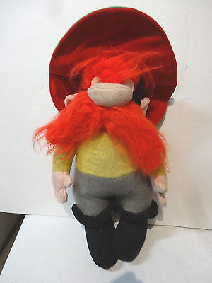 "Vtg Star Looney Toons Warner Brothers 15"" Stuffed Plush YOSEMITE SAM Doll 1971"