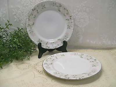 """Set of 2 Sheffield China of Japan 501 CLASSIC 6-1/4"""" Bread & Butter Plates"""