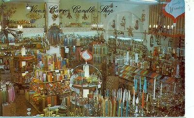 New Orleans,louisana- Vieux Carre Candle Shop-Interior-(Store-333)