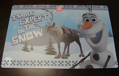 Disney's Frozen Placemat Olaf and Sven Zak! Designs New