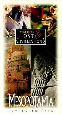 "NEW Time Life Lost Civilizations VHS Mesopotamia ""Return to Eden"" Sumer Babylon"