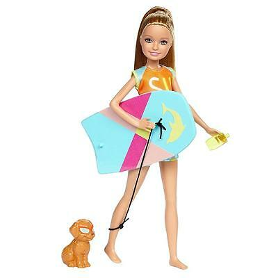 Barbie - Family Doll Stacie with Dog - Magic of Dolphins