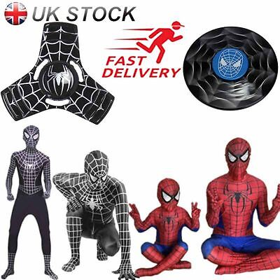 Spiderman Cosplay Costume Body Suit Superhero Boys Kids/Adult Halloween Outfit