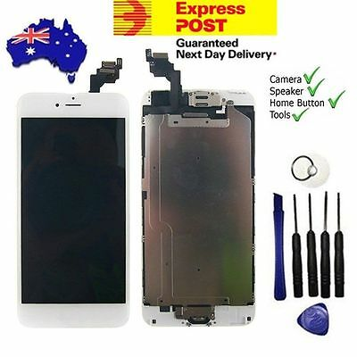 For iPhone 6 Plus LCD Screen Digitizer Full Assembly Replacement + Home Button