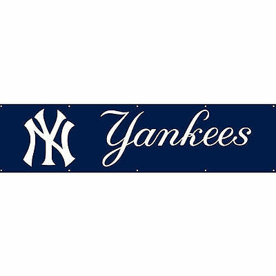 NY NEW York Yankees 8 ft x 2 ft Banner new Party Animal new