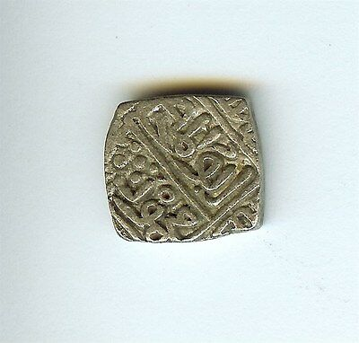 Mahmud Shah 1436-1468 Square Silver Tanka Almost Uncirculated  Malwa Sultanate