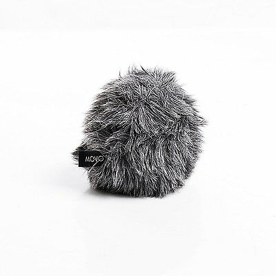 Movo WS-G5 Furry Outdoor Microphone Windscreen Muff Fit for Rode VideoMicro