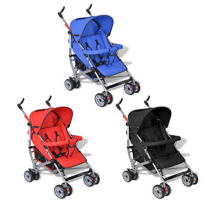 Red/Blue/Black Baby Stroller Pram Kid Toddler Child Jogger Bassinet Wheel Seat
