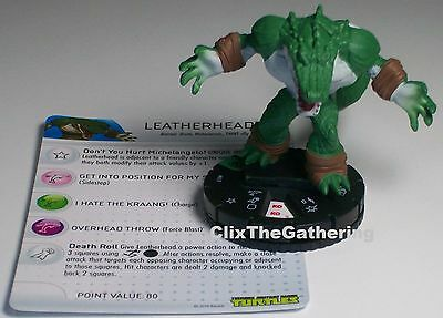 LEATHERHEAD 017 Teenage Mutant Ninja Turtles TMNT HeroClix