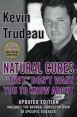 """Natural Cures """"They"""" Don't Want You to Know about,Kevin Trudeau"""