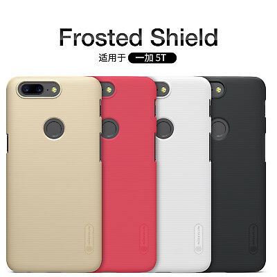 Original Nillkin Slim Best Hard Back PC Cover Case Shield For OnePlus 5T 5 3T 3