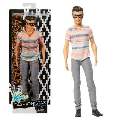 Barbie - Ken Puppe Fashionistas 3 - Stylin' Stripes