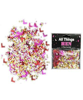 Feesten, speciale gelegenheden Overig Funny Hen Night Party Accessory Game Dare Spinner 20xWilly Straw Confetti