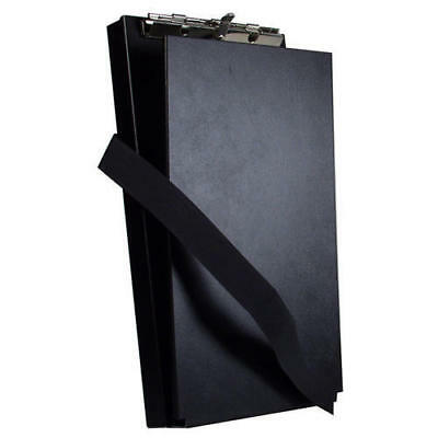 "Saunders 12206 Black Recycled 6x11"" Aluminum Antimicrobial Citation Holder II"
