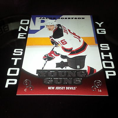 2010 11 Ud Young Guns 479 Jacob Josefson Rc Mint/nrmt +Free Combined S&h