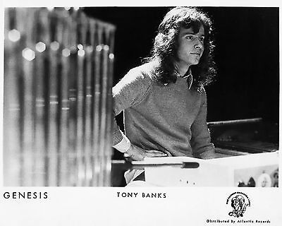 "Genesis Tony Banks 10"" x 8"" Photograph no 6"