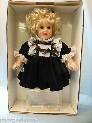 NRFB Horsman bright Star Heidi certificate Shirley Temple reproduction 1998
