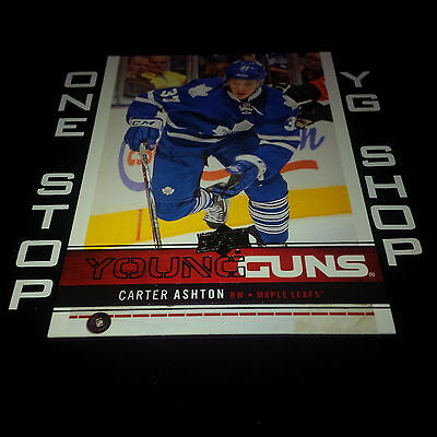 2012 13 Ud Young Guns 247 Carter Ashton Rc Mint/Nrmnt +Free Combined S&H