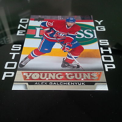 2013 14 Ud Young Guns 203 Alex Galchenyuk Rc Mint +Free Combined S&h