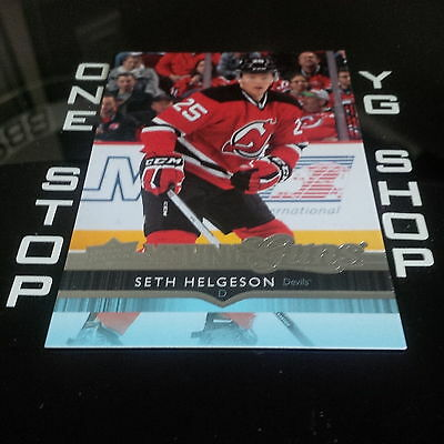 2014 15 Ud Young Guns 472 Seth Helgeson Rc Mint +Free Combined S&h