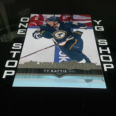 2014 15 Ud Young Guns 242 Ty Rattie Rc Mint +Free Combined S&h