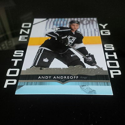 2014 15 Ud Young Guns 492 Andy Andreoff Rc Mint +Free Combined S&h