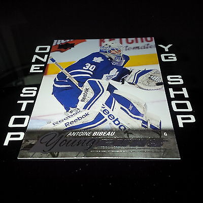 2015 16 Ud Young Guns 240 Antoine Bibeau Rc +Free Combined S&H