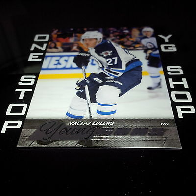 2015 16 Ud Young Guns 223 Nikolaj Ehlers Rc Nrmt +Free Combined S&H