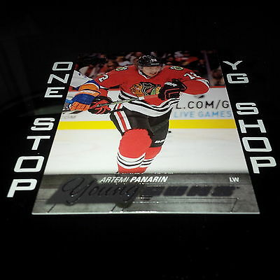 2015 16 Ud Young Guns 221 Artemi Panarin Rc +Free Combined S&H