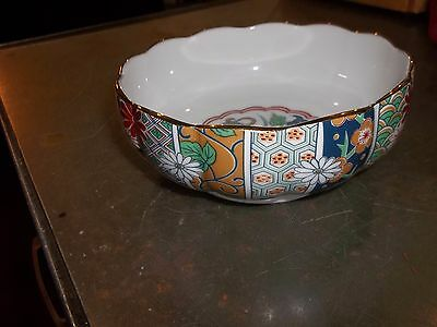 Arita Fine China Serving Bowl? Made In Japan (T2)