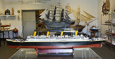 "RMS Titanic White Star Line Cruise Ship Model 70"" Museum Quality"