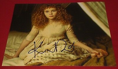 Kirsten Dunst Signed Interview With The Vampire Classic Still Photo A Auto Coa