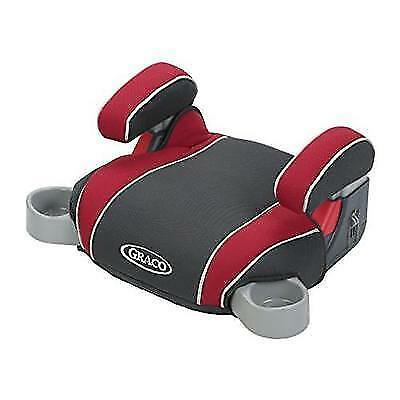 Graco Backless Turbo Booster Car Seat, Chili Red New