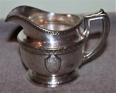 Vintage Commodore Hotel New York 1917 Silver Plated Creamer Gm Co.