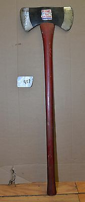Nice vintage Plumb All American made in USA axe 3.2 original handle label tool