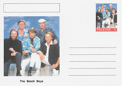 CINDERELLA - 4642 - THE BEACH BOYS  on Fantasy Postal Stationery card