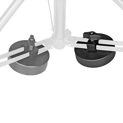 walimex Tripod Weight, 3kg, increases the stability of your tripod