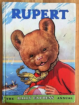RUPERT ORIGINAL ANNUAL 1959 Inscribed and Price Clipped G/VG