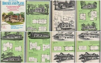 Hb House Beautiful House Plans Sum 1986 Atomic Ranch Mid Century Modern Colonial