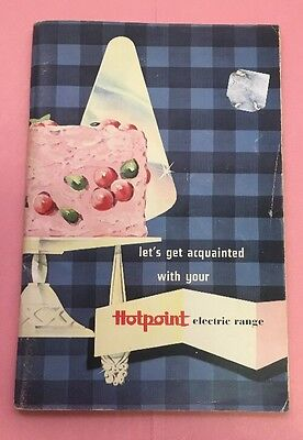 BP033 Hotpoint Electric Range Stove Cookbook Booklet 1940