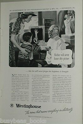 1938 Westinghouse advertisement, X-ray, roentgenologist, early X ray machine