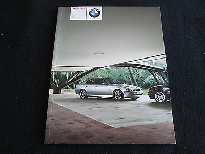 2002 BMW 5 Series Brochure 525i 530i 540i E39 US Sales Catalog 6-sp Manual Sport