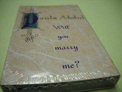 PAULA ABDUL brand new 1991 cassingle WILL YOU MARRY ME & GOODNIGHT MY LOVE