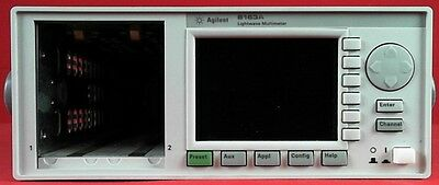 HP / Agilent 8163A Lightwave Measurement Mainframe