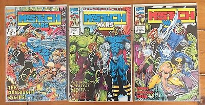 Marvel Comics Mys-tech Wars (1993) Issues 1,2 & 3 Of A 4 Series Set