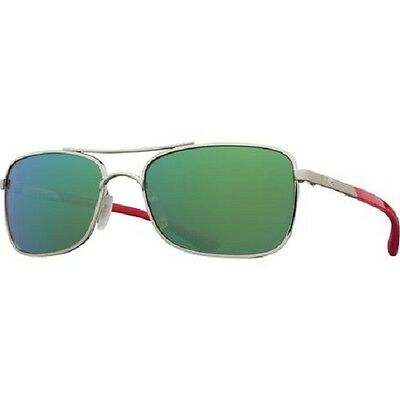 25d98df4f44 NEW Costa Del Mar Palapa Paladium Crystal Red Green AP83 OGMGLP 580G  Sunglasses